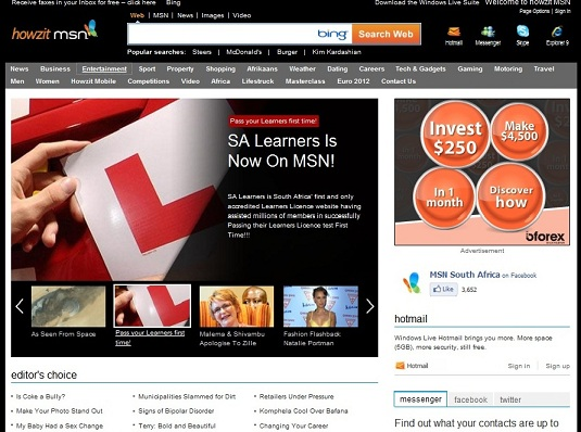 SA Learners On MSN - Click Here